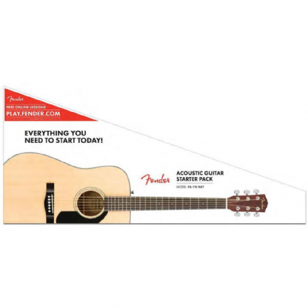 Fender FA-115 Dreadnought Acoustic Pack Natural
